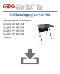 Certificato CATAS EN 1730 Pitagora