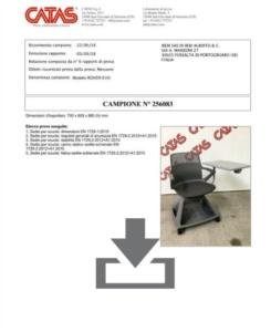Certificato Rover EVO - CATAS EN 1729  1-2